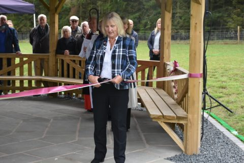 Opened by District Cllr Barbara Williams